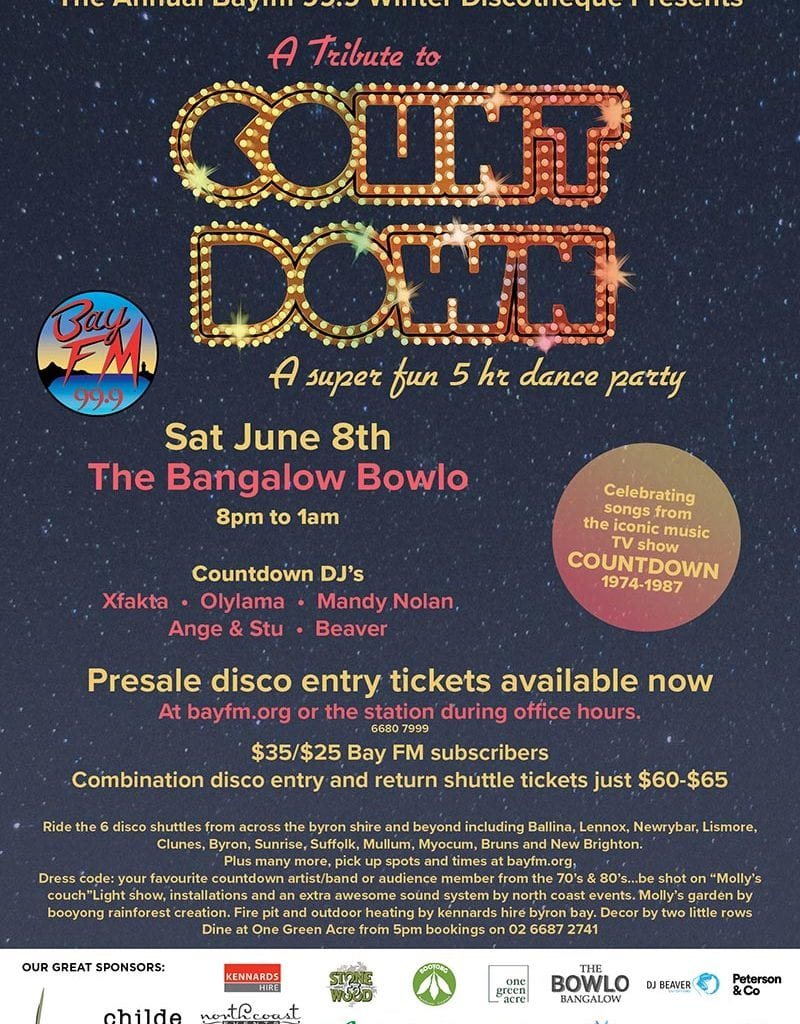 Bay FM Countdown Disco